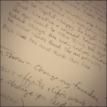 Book scribbles
